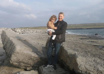 Country Tour father daughter Dollymount strand